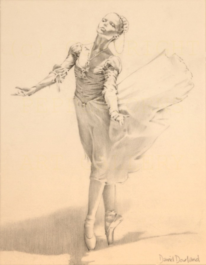Paintings and Illustrations of Ballerinas