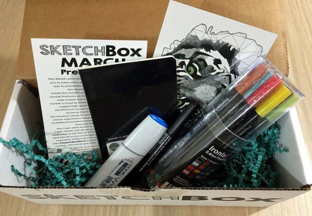 Sketch Box Subscription
