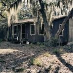 Canada. Abandoned house