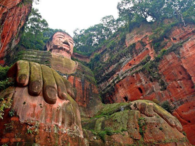 The Giant Buddha of Leshan.