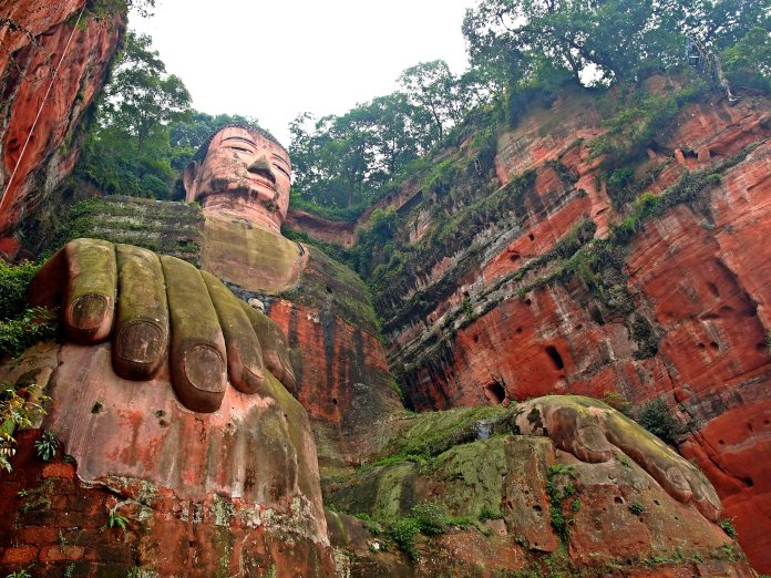 The Giant Buddha of Leshan.