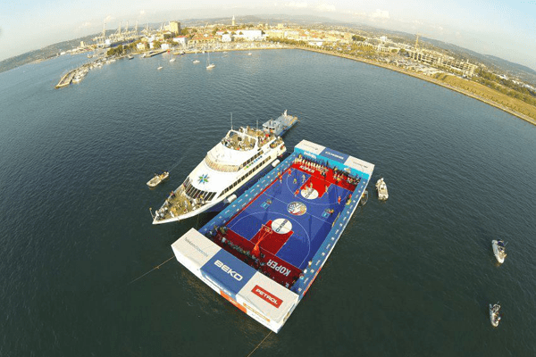FIBA Court on the Sea