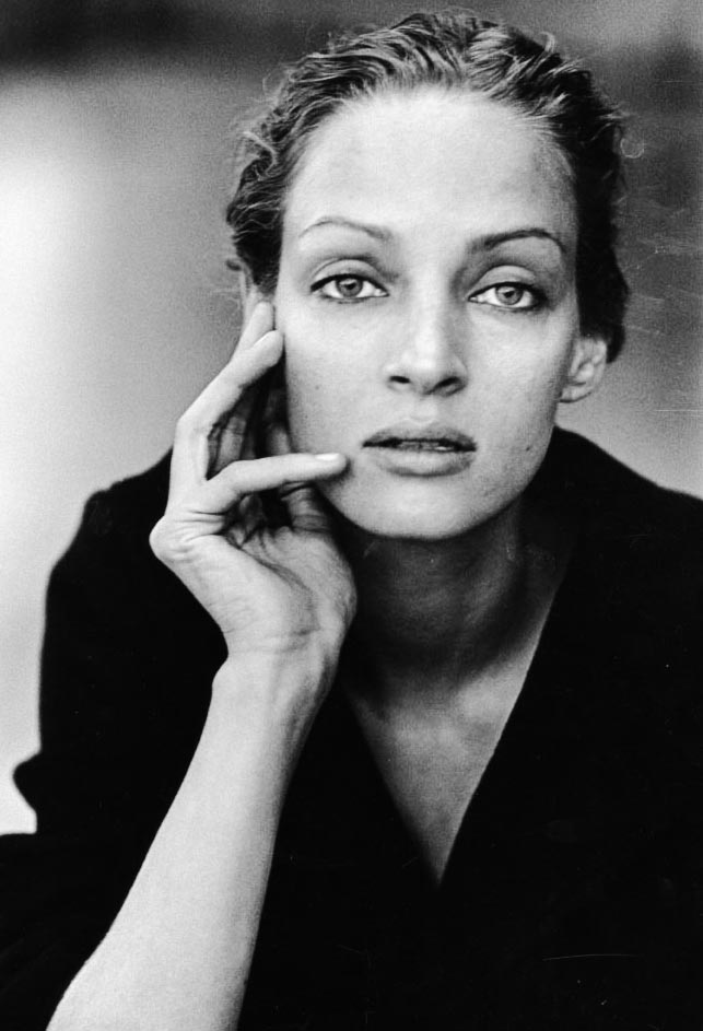Photography by Peter Lindbergh_ uma Turman