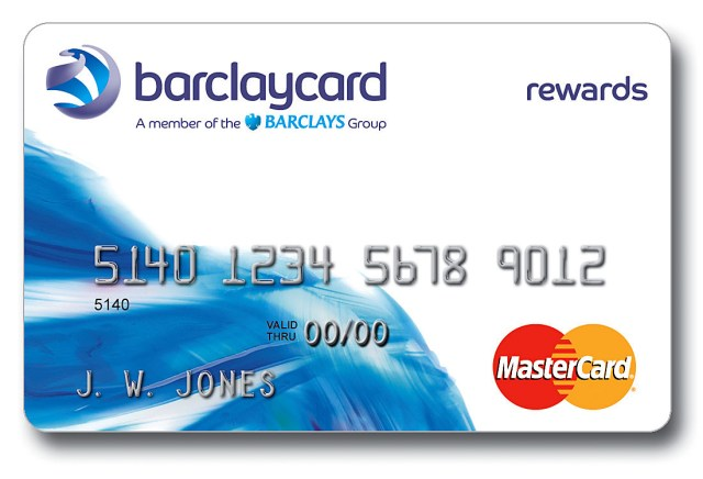 - Barclaycard Rewards MasterCard
