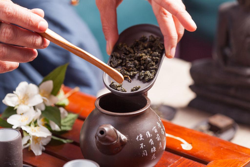Oolong tea-history