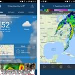 Weather app by WeatherBug