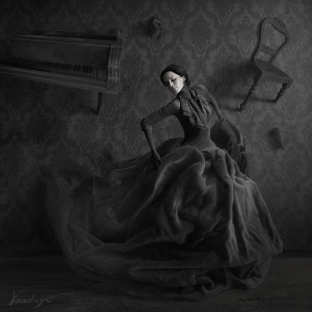 Dasha Astafieva photo manipulations