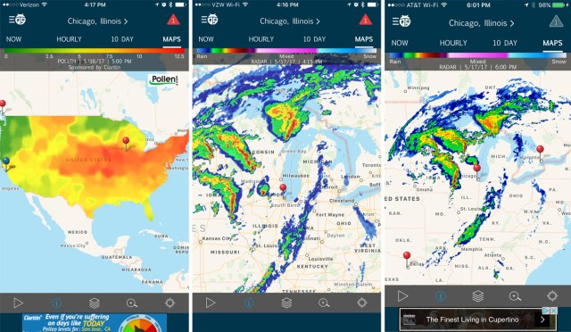 The Weather in your Pocket - WeatherBug! | Internet Vibes