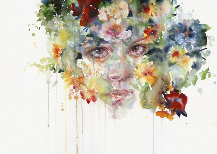 watercolor art Silvia Pelissero