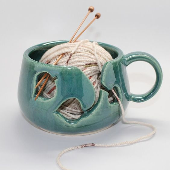 Beautiful Yarn Bowl