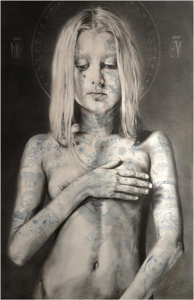 woman illustration Gabriel Moreno.