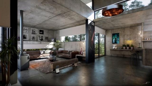 Concrete-interior trend 2018