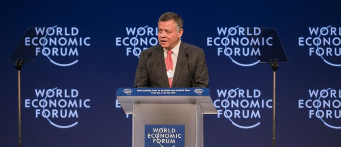 Jordan's King Abdullah II is committed to investing in technology