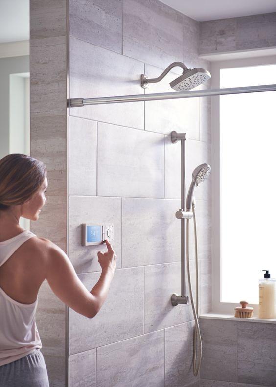 Cloud-based shower