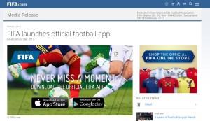 FIFA app