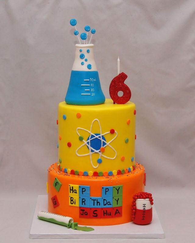 Science cake ideas