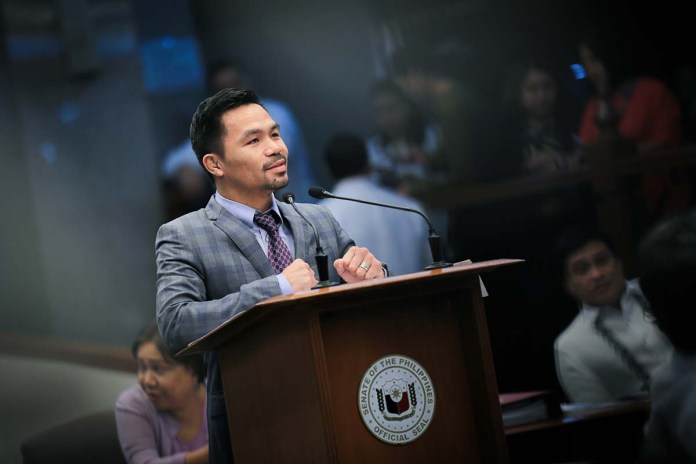 Breaking PH News: Pacquiao is not closing his doors to run for president.