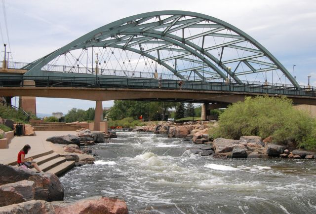 best places in Denver Confluence Park