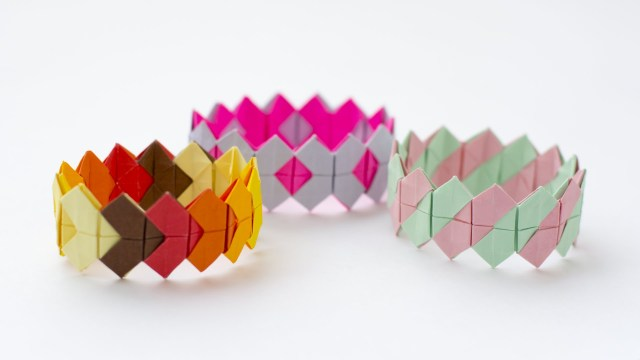 fancy paper bracelets should do the trick!