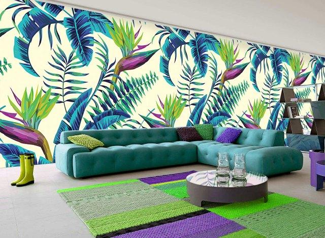 Tropical Prints wallpaper