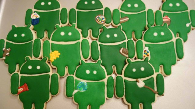"Android software ""Éclair"