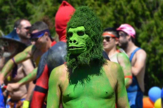 Fremont Solstice Parade 2018_naked ride