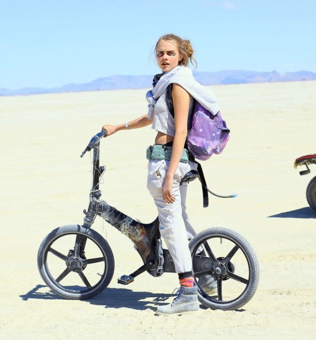 Cara Delevingne at Burning Man Festival 2018