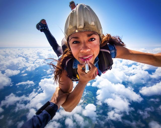 Try something new-skydiving