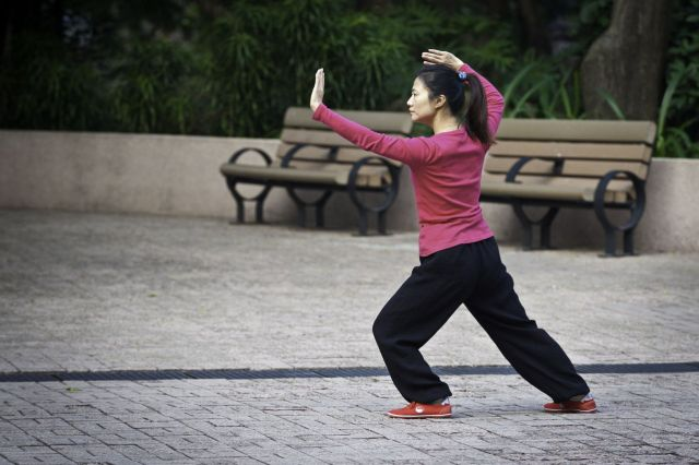 Tai Chi is a Chinese type of martial arts