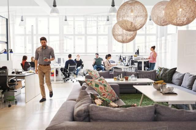 improve office reception