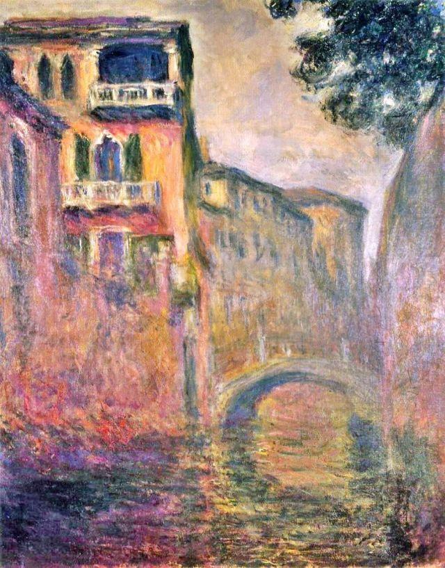 Claude Monet Le Rio de la Salute
