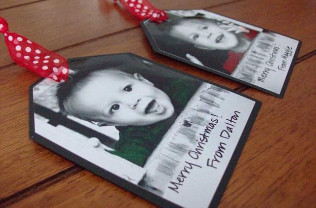 A Photo Tag Christmas Gift