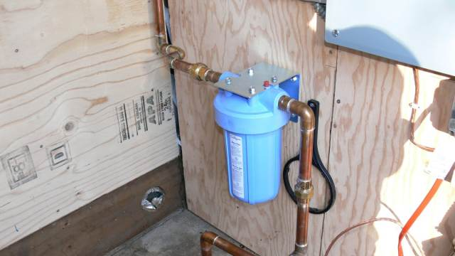 whole house water filter by Clean Air Pure Water.