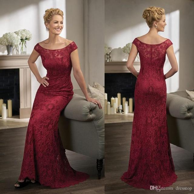 burgundy- mother-of-the-bride-dresses