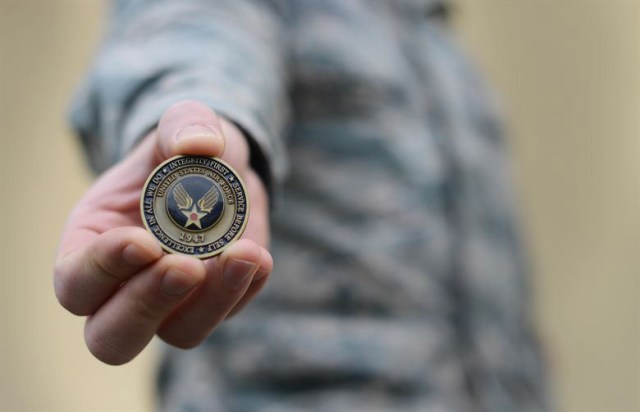 military challenge coin challenge.