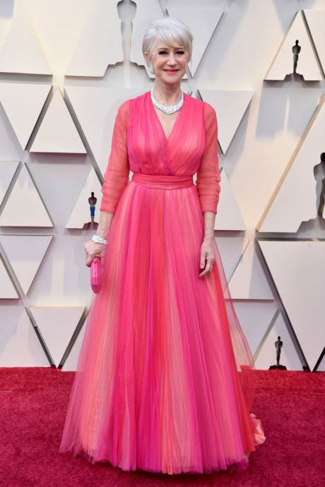 Helen Mirren Red Carpet Oscars looks