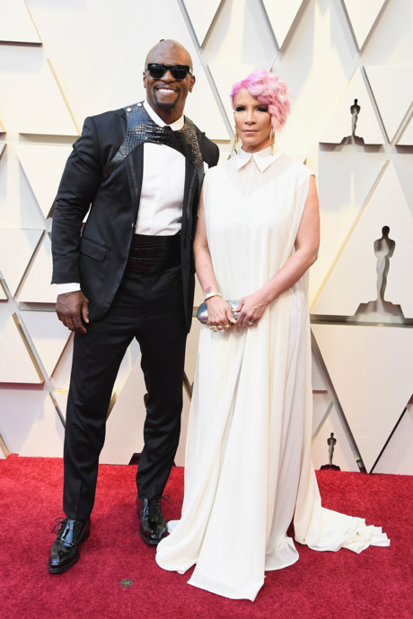 Terry Crews and Rebecca King-Crews