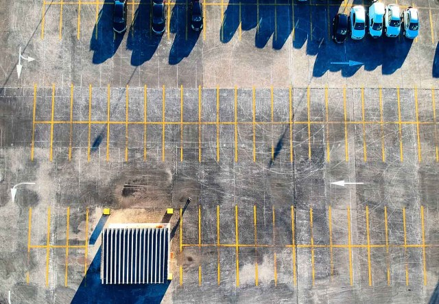 aria self parking location