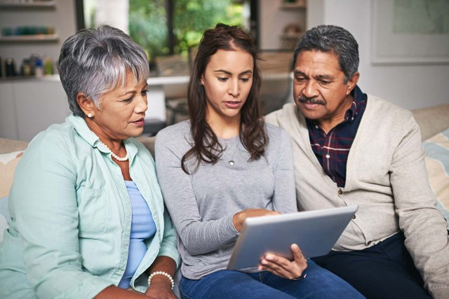 Encourage seniors to Ask Questions