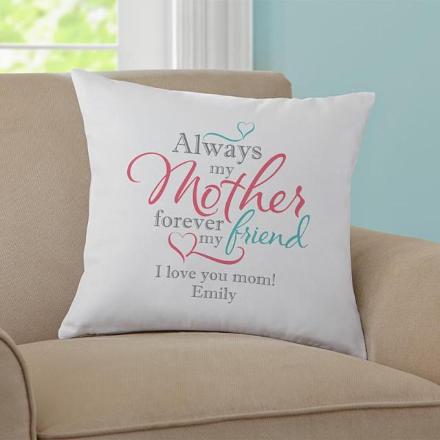 Personalized Cushions throw pillow for mom
