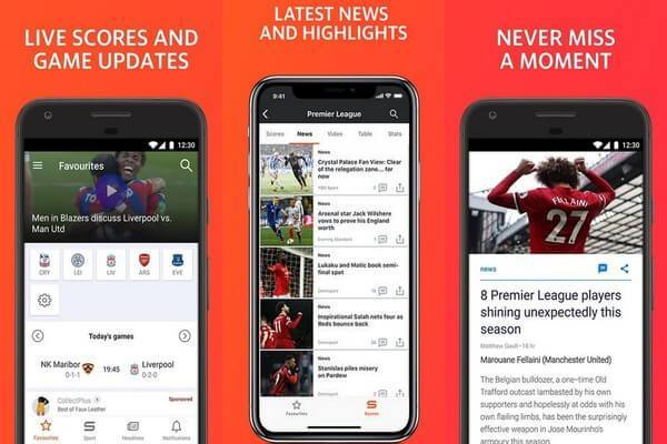 Setting up the Yahoo Sports app