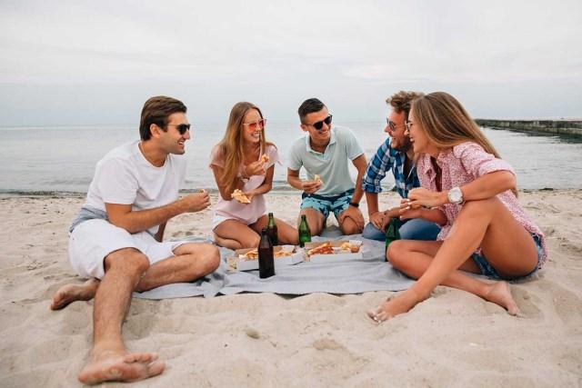 Have fun at the beach