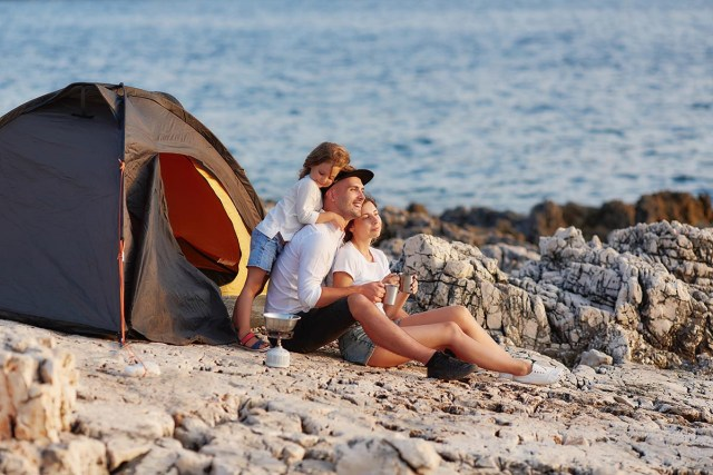 things to keep in mind when camping with kids.