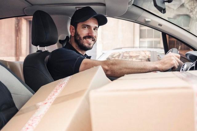 sturdy cardboard boxes