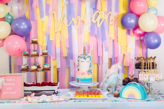 Tips for a Unisex Unicorn-Themed Party
