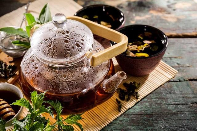 Drink relaxing herbs