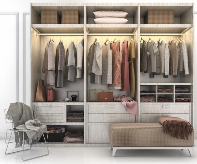 All-in-one wardrobes
