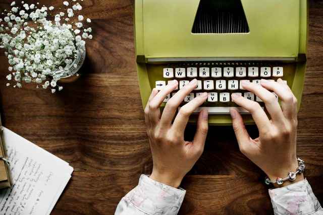 how do you change your career to a full-time writer