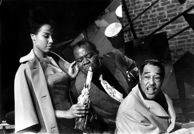 Louis Armstrong and Duke Ellington
