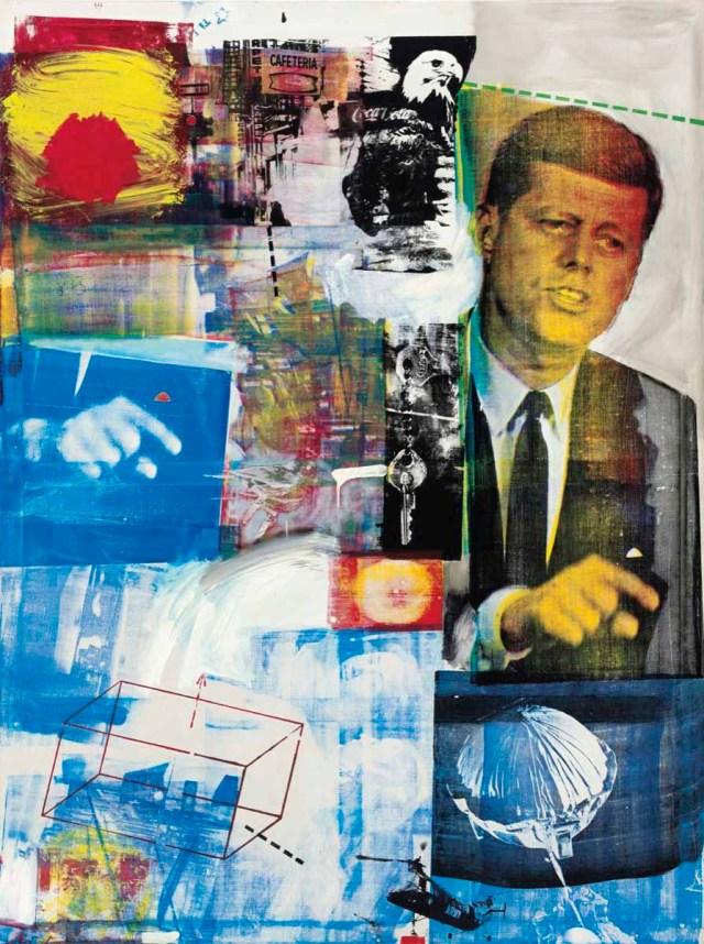 Robert Rauschenberg, Buffalo II, 1964